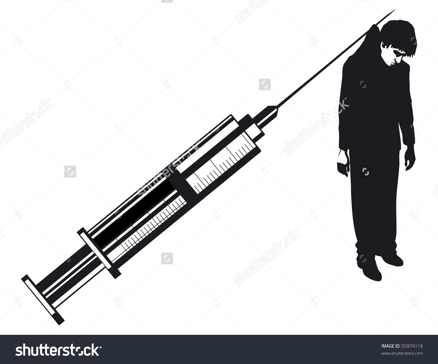 drug abuse stock vectors vector clip art shutterstock studio v rh pinterest com Drug Addiction Clip Art Prescription Abuse