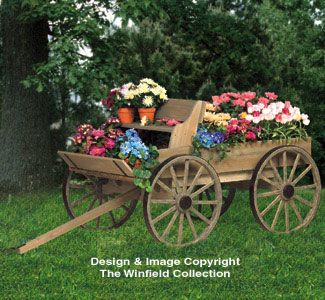 Superior All Yard U0026 Garden Projects   Buckboard Wagon Woodworking Plan