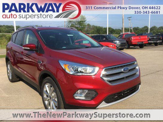 New 2017 Ford Escape 4wd Anium For In Dover Oh 44622 Kelley Blue Book