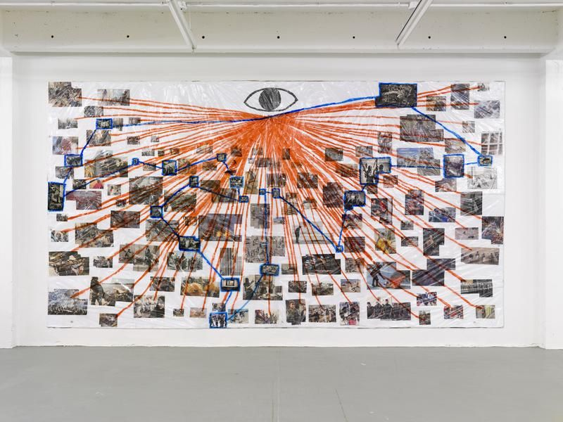 Pin By Tiki T On Artsy Fartsy In 2019: Thomas Hirschhorn The Eye-Map II (What Makes The Eye See