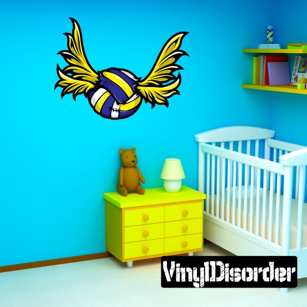 Flying water polo wall decal vinyl car sticker 2