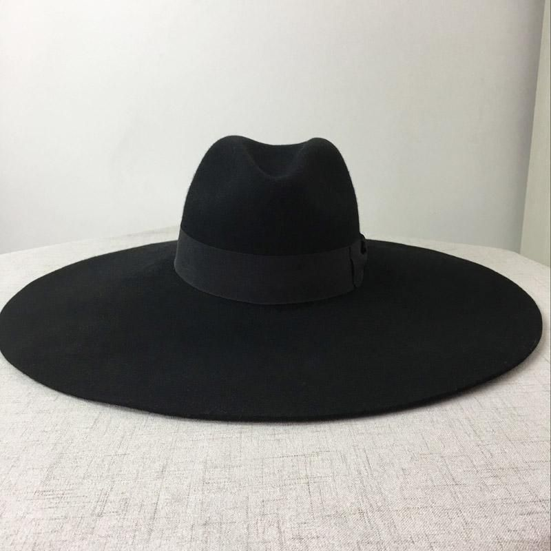 Gothic Wiccan Wide Brim Hat Outfits With Hats Black Wide Brim Hat Wide Brim Hat