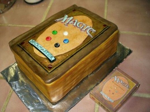 Awesome Magic The Gathering Cards Cake Must Make This For My