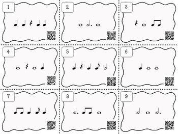 Music Task Cards Rhythm Set 2 Music Education