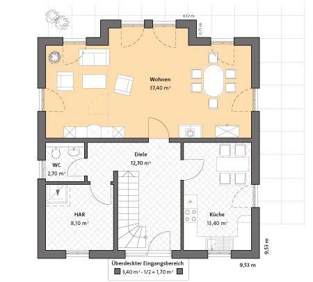 Mediterrane Moderne Stadtvilla Bauen   Mit Garage Und Klinker   Bau  GmbH  Roth