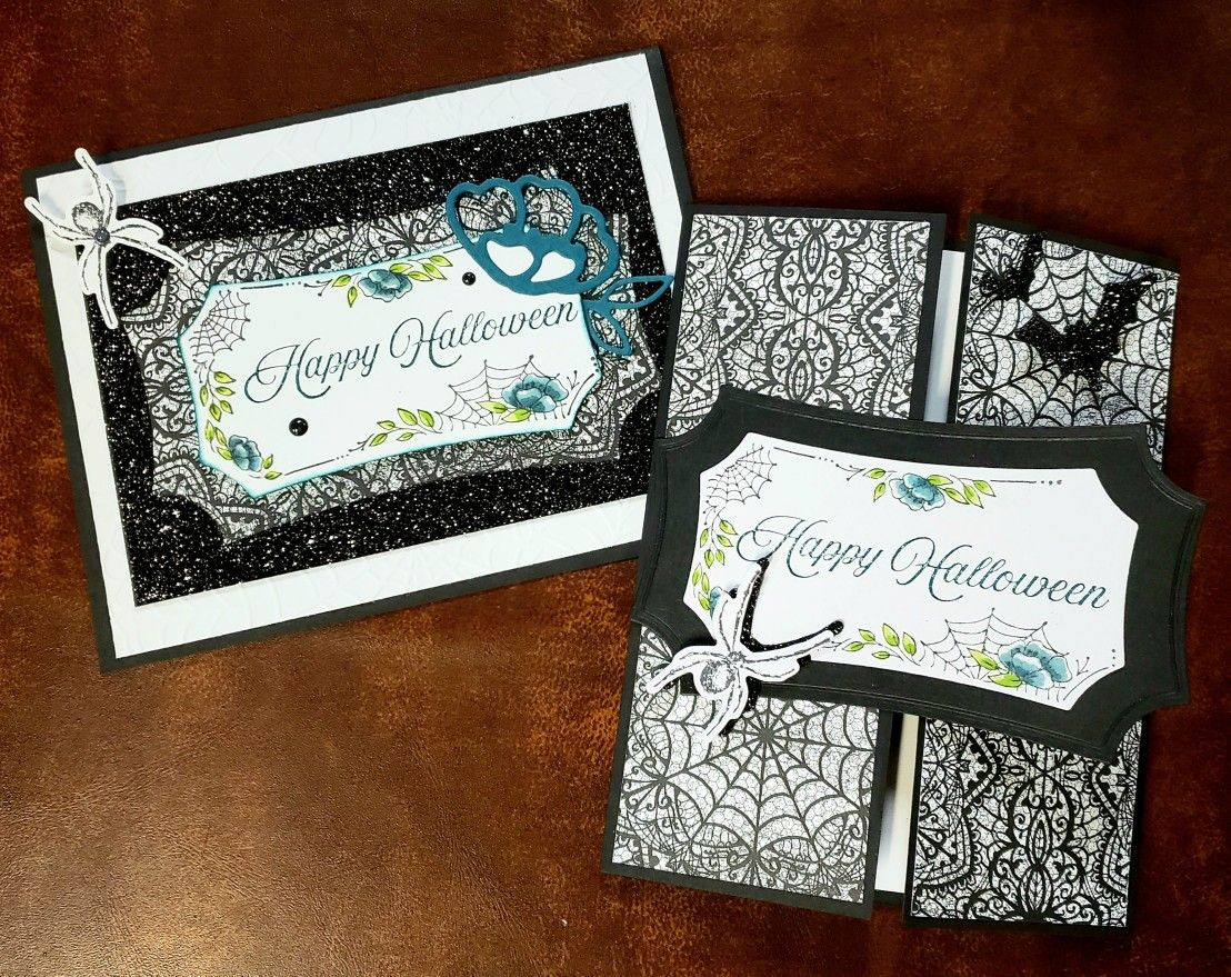 Stampin Up Halloween Card Ideas 2020 Stampin Up Hallows Night Magic in 2020 | Stampin up cards