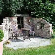 Image result for garten sitzecke mauer | Gardening | Garten, Garten ...