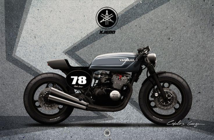 Xj 600 Cafe Racer Kit