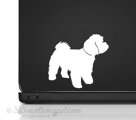 Maltipoo Decal Vinyl Sticker SilhouetteMYpet by silhouetteMYpet ...