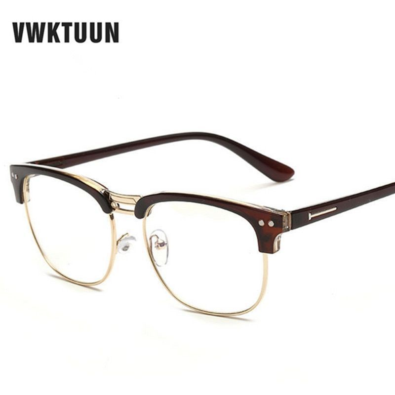 5c4f2aa9ee Fashion new glasses frame women men eyeglasses optical glasses frame vintage  eyeglass frames female fake clear glasses  frames  eyewear  accessories ...
