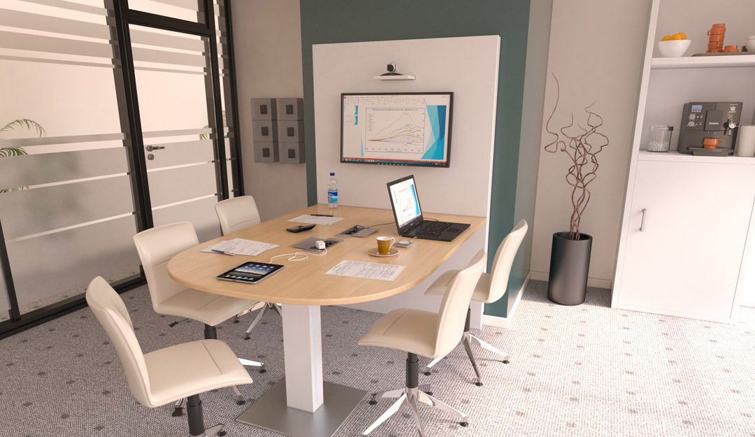 egic 39 media s rie 1 le meuble multim dia id al pour le travail collaboratif ce meuble. Black Bedroom Furniture Sets. Home Design Ideas