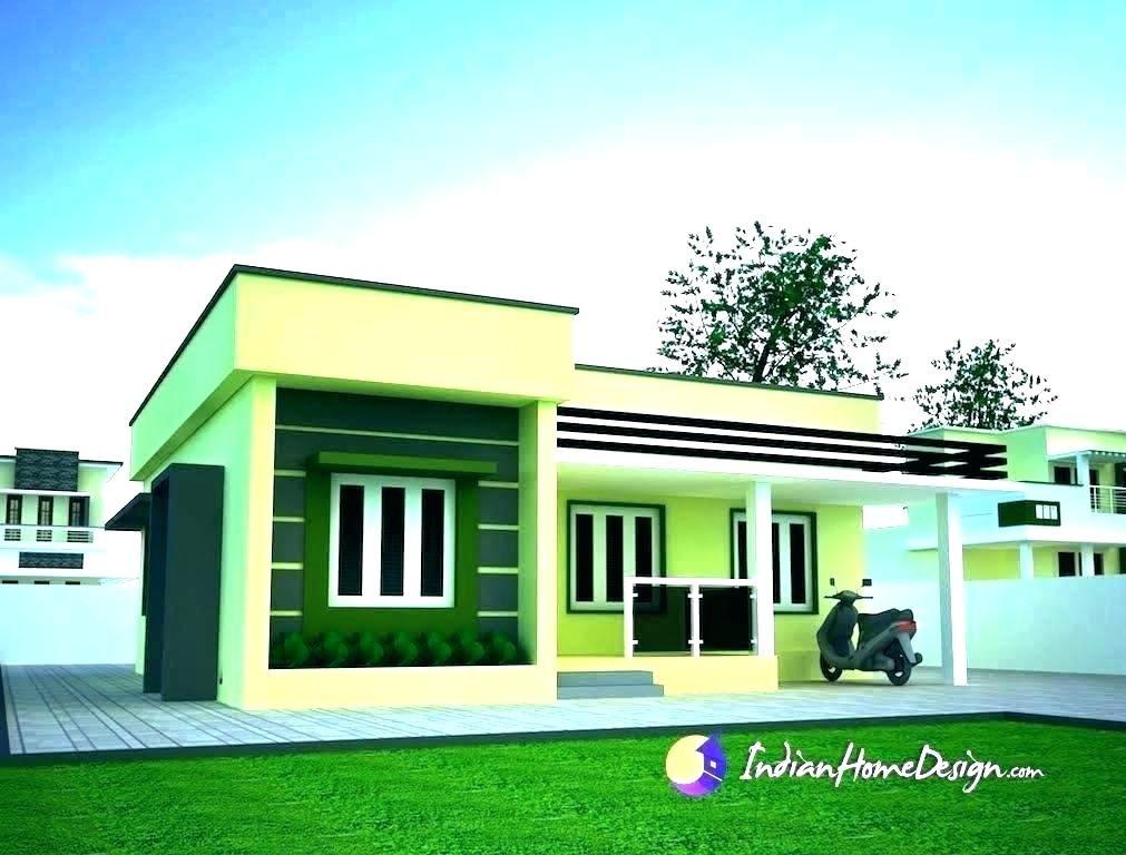Latest Indian Single Storey House Elevation Designs Single Floor House Front Elevation Design Simple House Design Simple House Plans Single Floor House Design