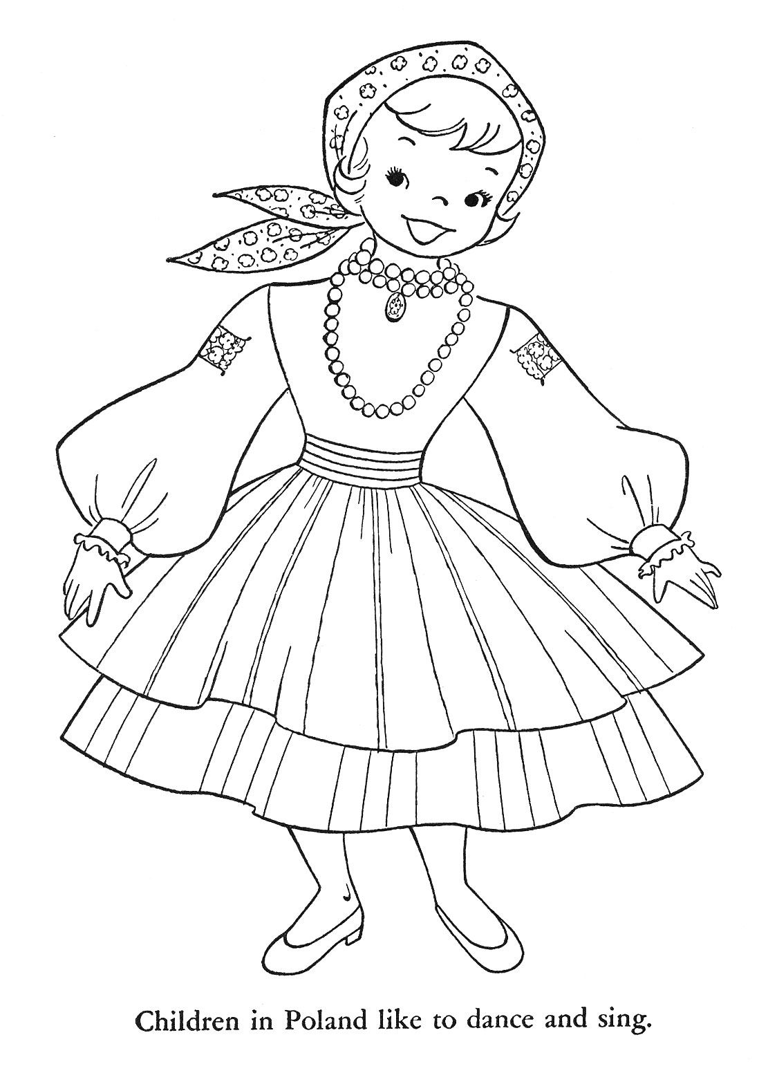 german children coloring pages - photo#23