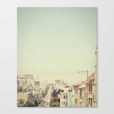 Elegance in San Francisco  Stretched Canvas by Urban Dreams Photography - $85.00