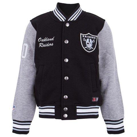 3196fbe1ed1 Majestic Athletic Oakland Raiders Varsity Jacket Athletic