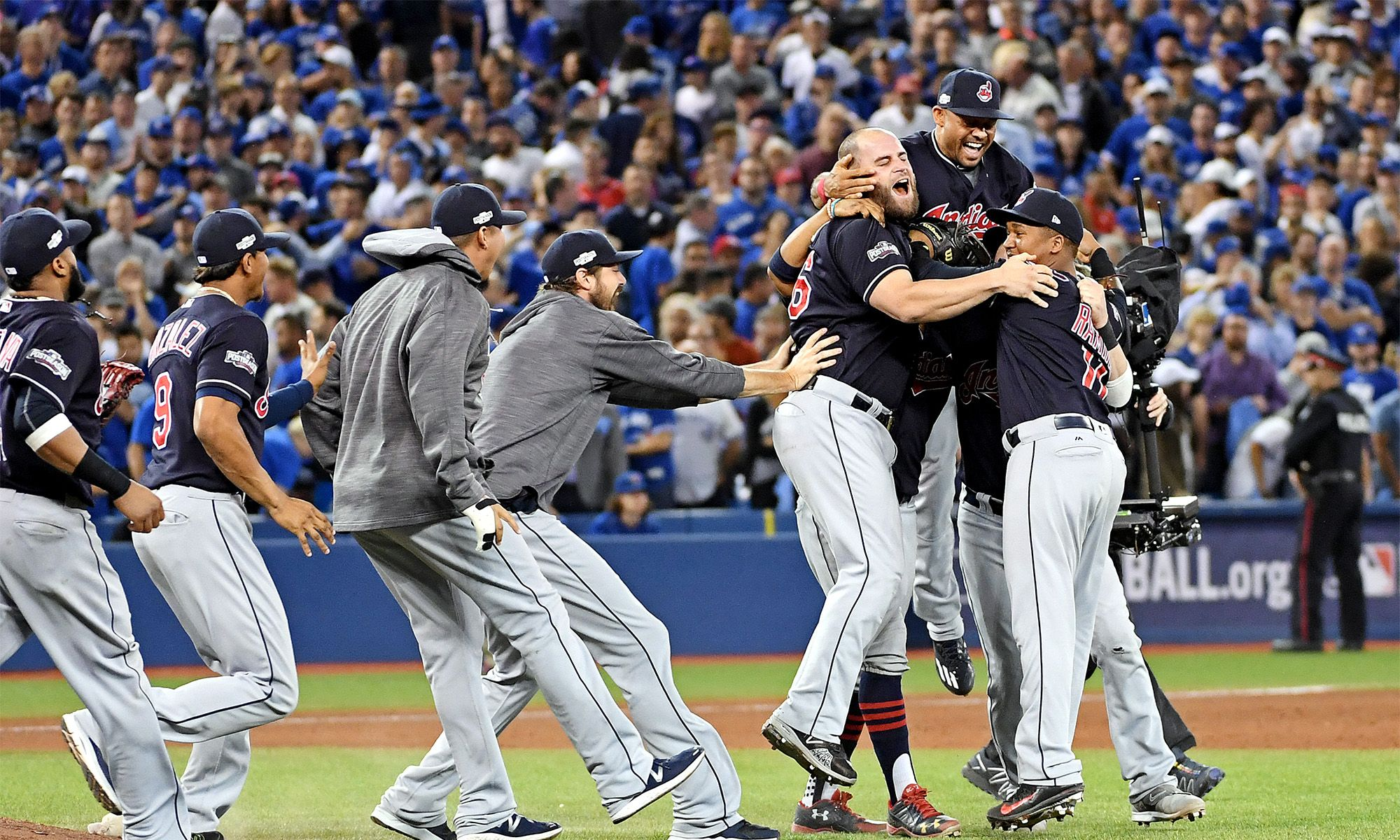 ALCS MVP Andrew Miller and the Indians' bullpen totally