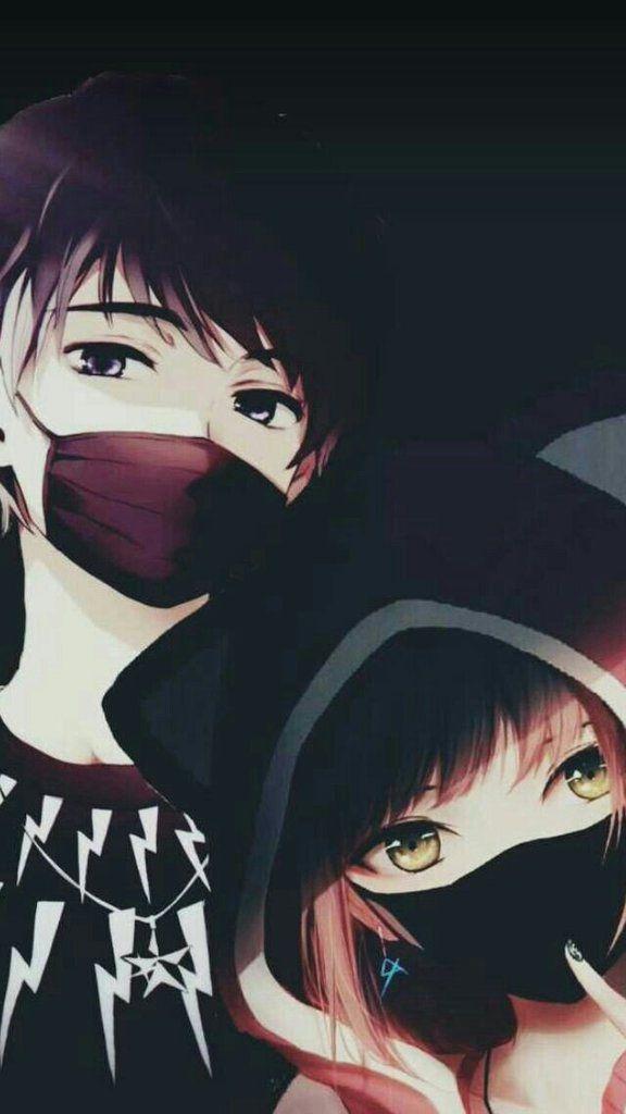 صور انمي انمي و كمامة In 2020 Cute Anime Coupes Anime Coupes Anime Drawings Boy