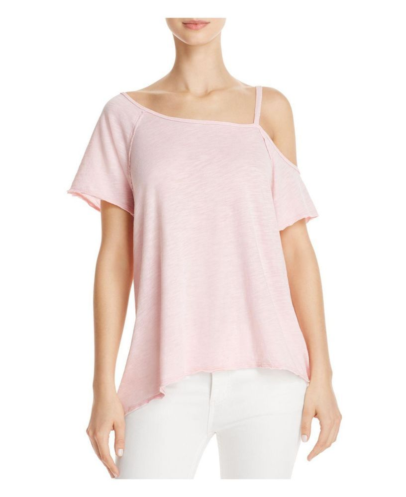 068545b184bf2f NWT Free People We the Free Womens Pink Coraline Cold Shoulder Top Size  Large #FreePeople #Blouse #Casual