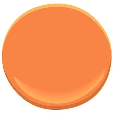 Tangerine Paint Color tangerine (lighter version of my fav bright orange) | home sweet