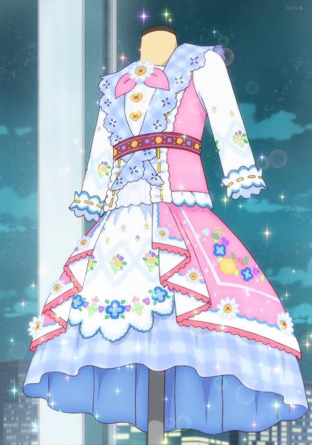 aikatsu friends 67 わかばブランドのドレス hinh ảnh minh họa thời trang hinh vui