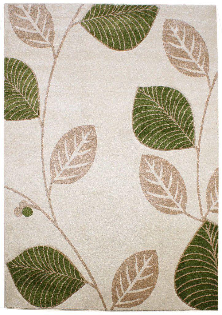 Teppich Wohnzimmer Carpet modernes Design VOQUE BLAT RUG 100 - Wohnzimmer Design Grun