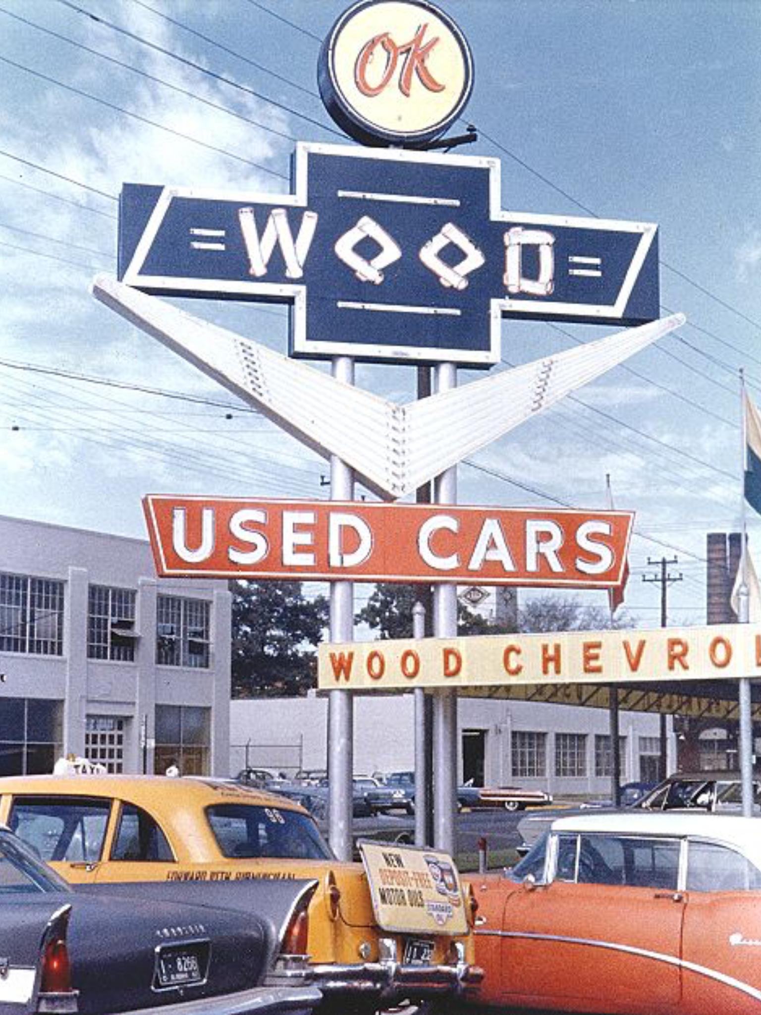1962 Wood Chevrolet Co., Dealership, Birmingham,Alabama