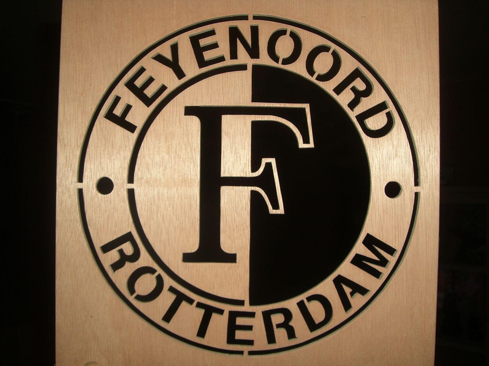 Feyenoord Rotterdam Emblem Silhouet