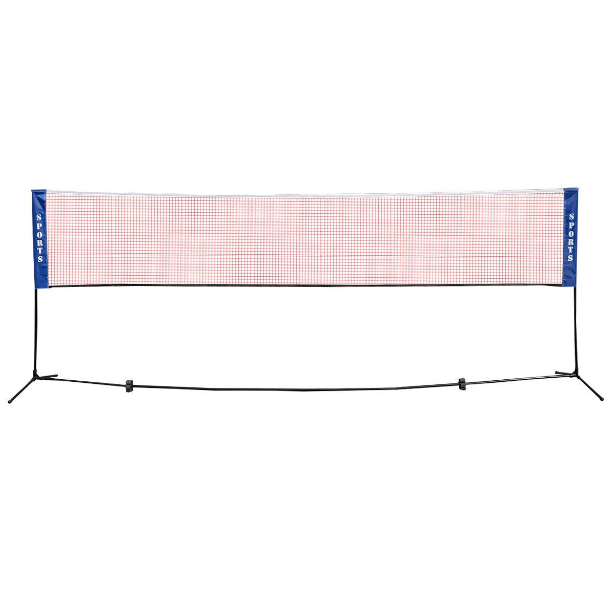 Portable 10 X 5 Badminton Beach Tennis Training Net Badminton Nets Beach Tennis Badminton