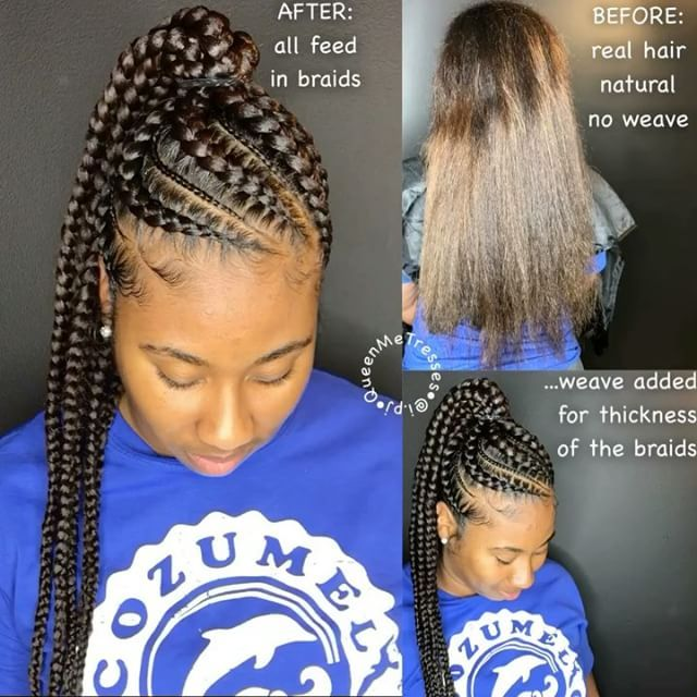 See This Instagram Video By I Pj 924 Likes Feed In Braids