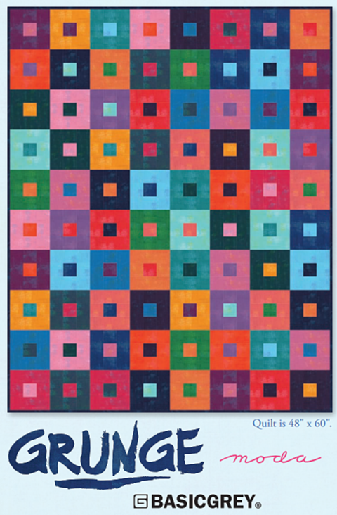 FREE Quilt Pattern featuring Grunge Basics by BasicGrey for Moda ... : free quilt patterns moda - Adamdwight.com