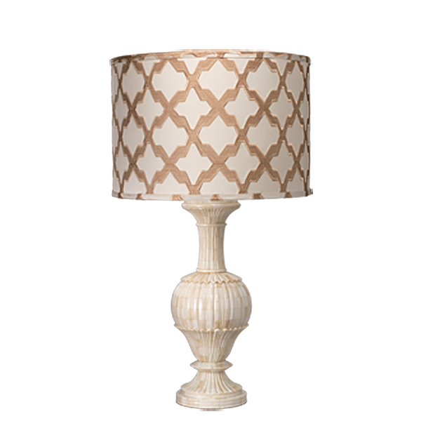 Large Carved Bone Table Lamp By Jamie Young Company Table Lamp Lamp Table Lamp Lighting