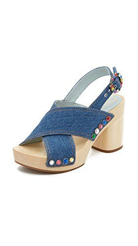 MARC BY MARC JACOBS Marc By Marc Jacobs Women'S Linda Criss Cross Clog Mule. #marcbymarcjacobs #shoes #shoes