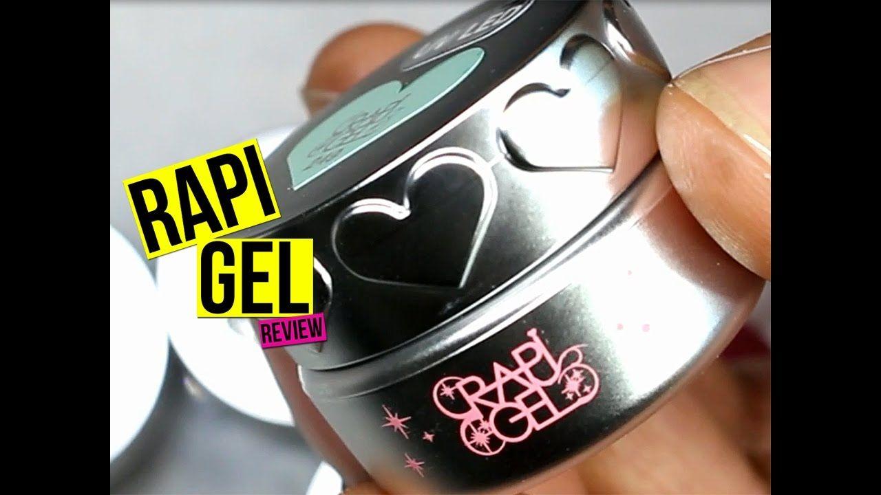 RapiGel Nail Gel Color Review | NailGurl | Nail Art Videos | Pinterest