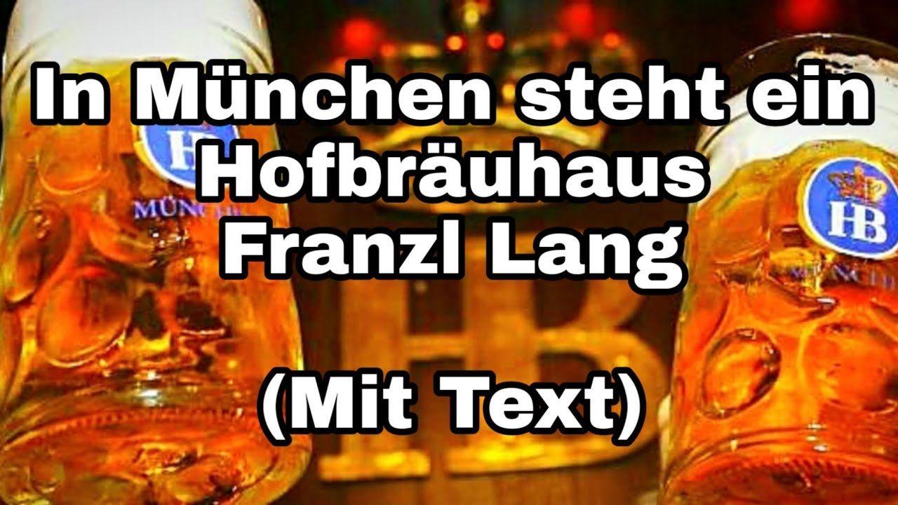 In München Steht Ein Hofbräuhaus Text
