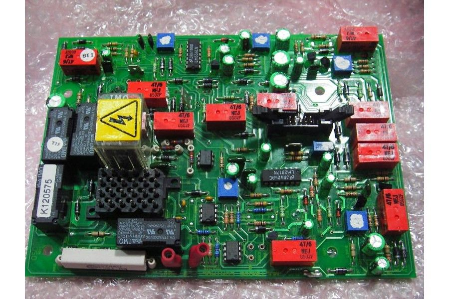 FG Wilson Printed Circuit Board PCB 650-077-Generator Parts and ...