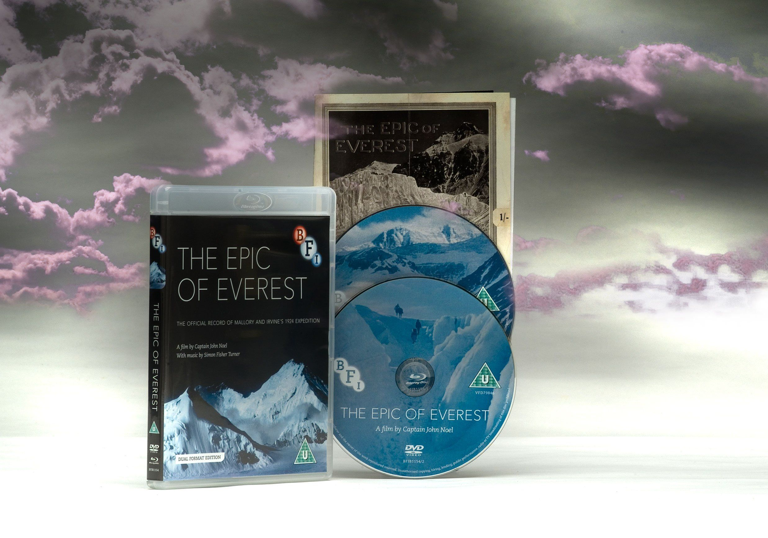 The Epic of Everest (DVD Bluray) [Reino Unido] DVD,