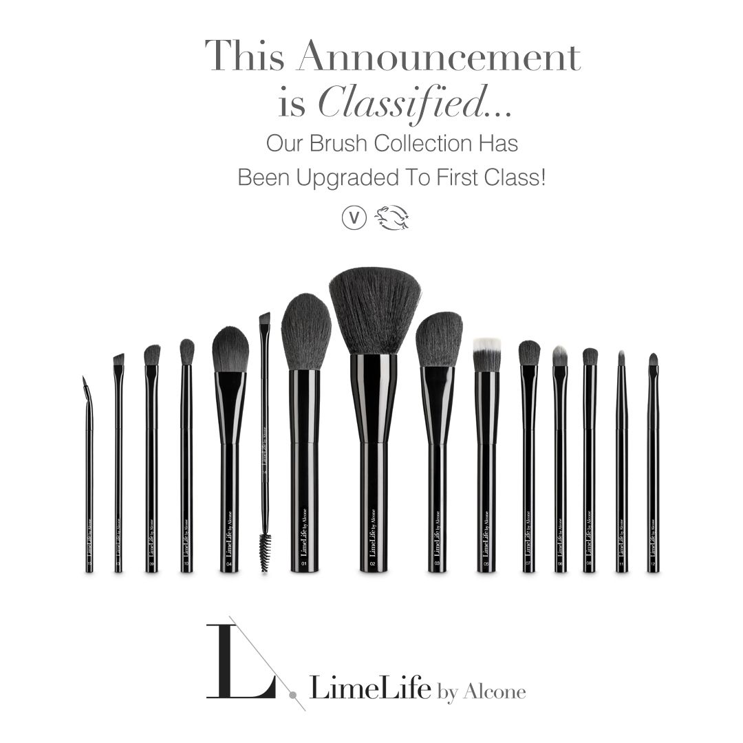 123197793cc LimeLife by Alcone makeup brush collection www.beautylifewithtara.com  #brushes #makeup #vegan #skincare #beauty #blush #eyeshadow #classified  #giftsforher # ...