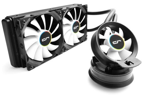 Cryorig A80 Hybrid Liquid Cooling System Review Custom Pc