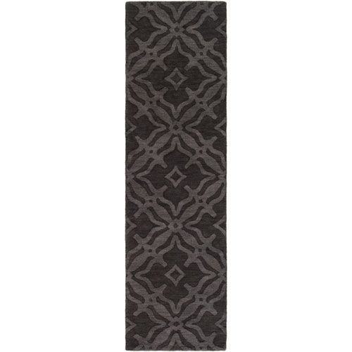 Metro Ramona Onyx Black Runner: 2 Ft. 3-Inch x 14 Ft. - (In No Image Available)