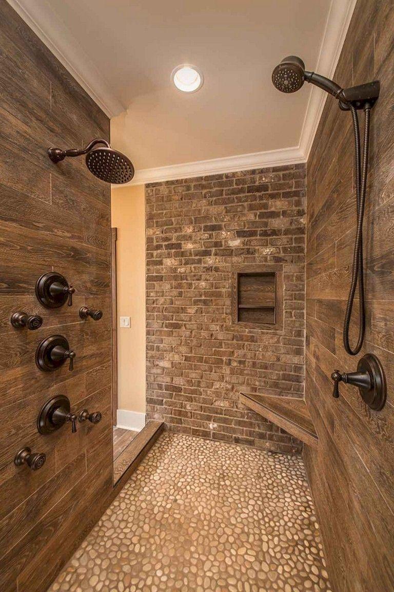 53 Cold Bathroom Shower Makeover Ideas Rustic Master Bathroom