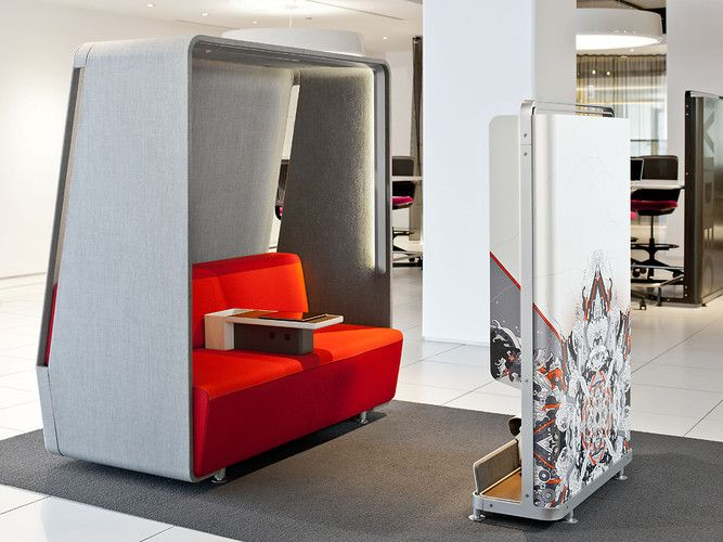 1 | Office Furniture That Makes Video Calls More Apt For Brainstorming | Co.Design: business + innovation + design