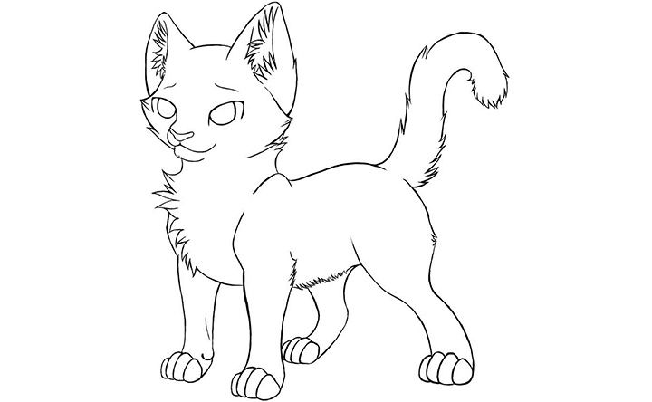 Realistic Cat Coloring Page Google Search