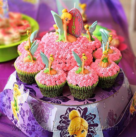 Tinkerbell Cupcakes Cuppy Cake Gum Drop Pinterest