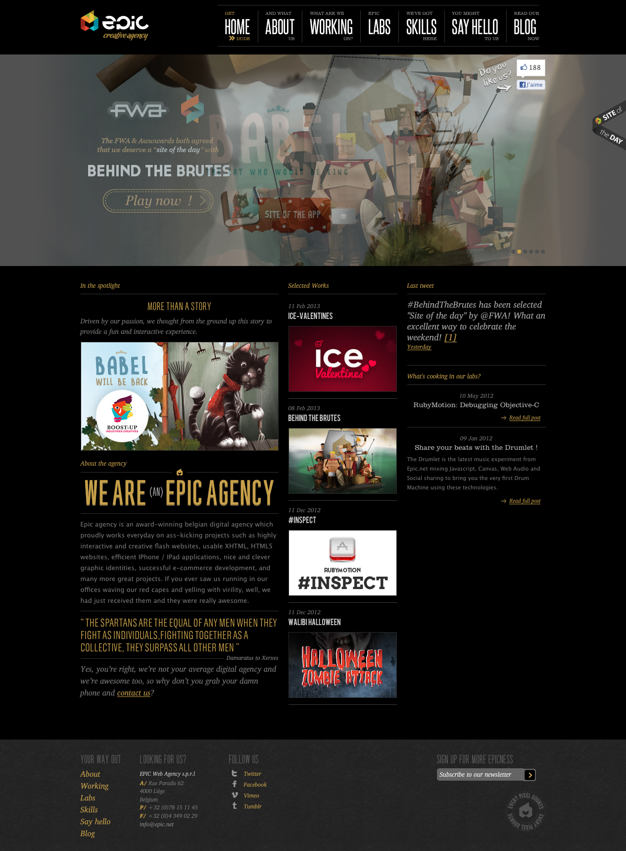 cool real #website