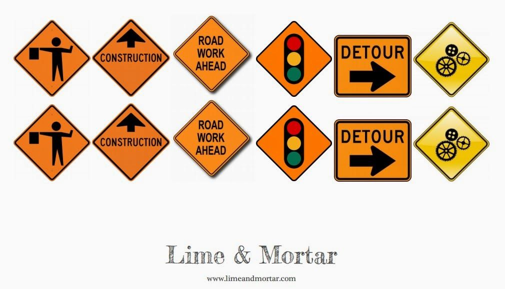photo regarding Construction Signs Printable titled Street Signs and symptoms for Composition bash - Totally free Printable