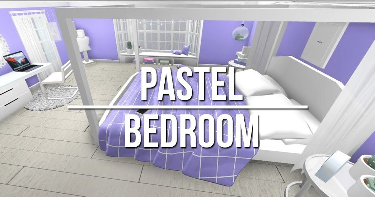 Roblox Bloxburg Kid Bedroom Ideas Aesthetic Bedroom Study Room