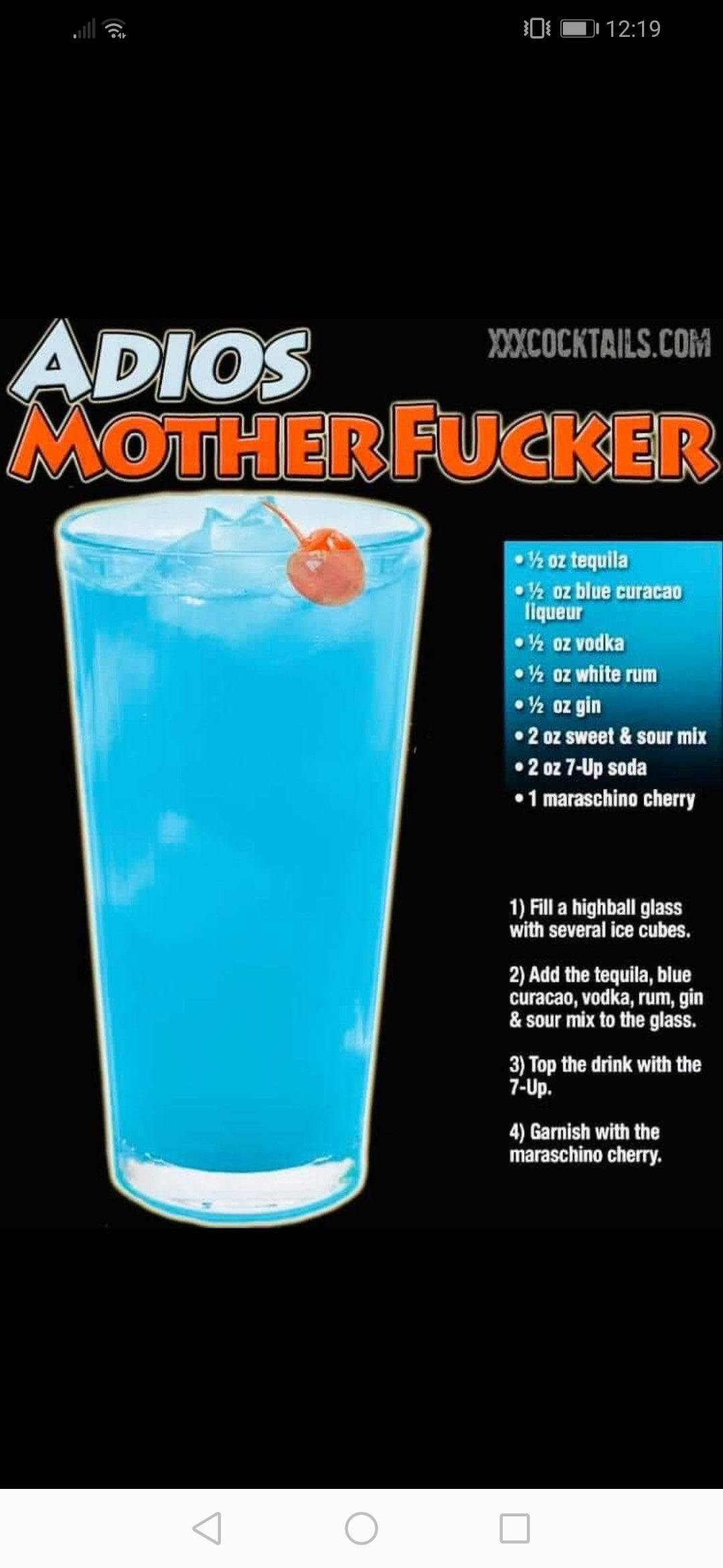 Pin By Chris On Drink Recipes In 2020 Alcohol Drink Recipes Cocktail Drinks Alcoholic Drinks Alcohol Recipes