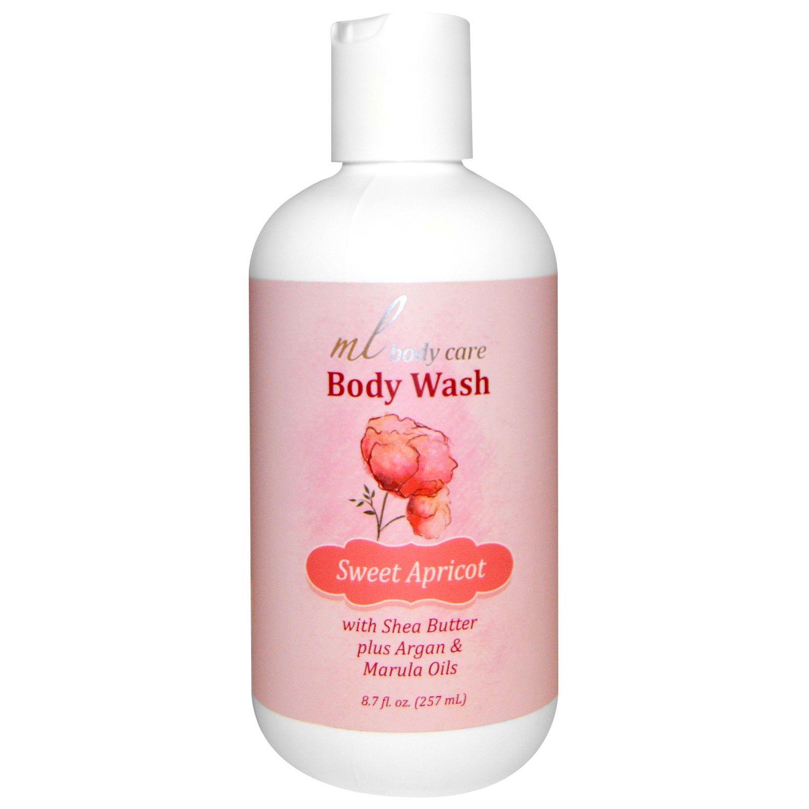 Madre Labs Argan Oil Body Wash Sweet Apricot 87 Fl Oz 257 Ml