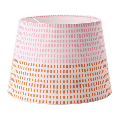 Jalsta Lampenkap Roze Oranje Ikea Kamer Margo Slaapkamer