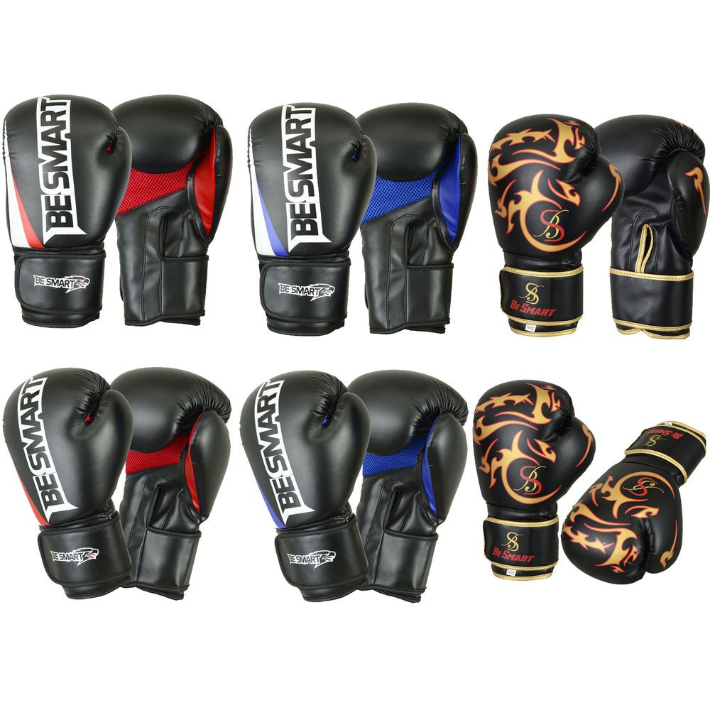 Professional Boxing Gloves Sparring Glove Punch Bag Training MMA Mitts Muay Thai
